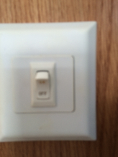 Lighted Water Pump Switch