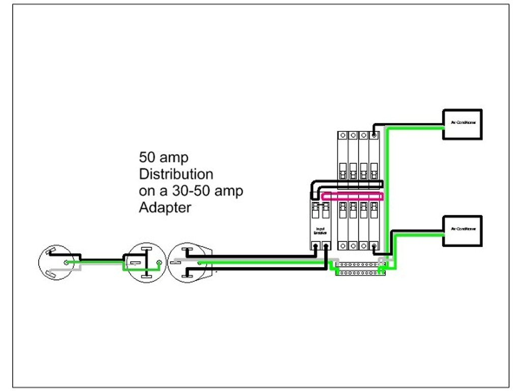no 50 amp service available? jayco rv owners forum 30 amp 220 volt plug wiring diagram wiring diagram for power converter