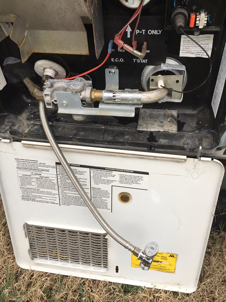 Water heater drain mod - would this cause problems? - Jayco RV