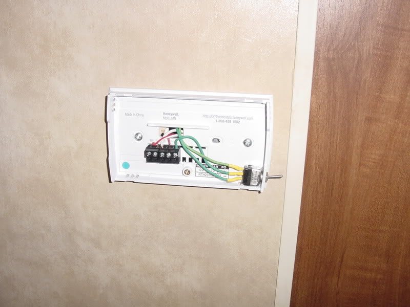 Diagram On 4 Wire Wiring Diagram For Honeywell Digital Thermostat
