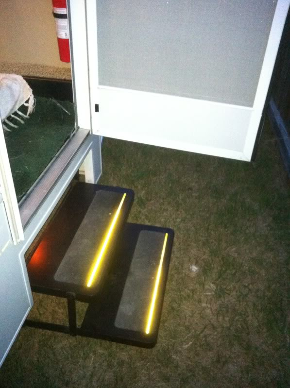 Disable automatic electric steps jayco rv owners forum for Motorized rv entry steps
