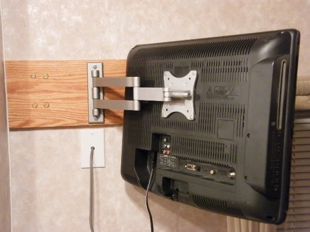 Tv Bracket Mounting Help Jayco Rv Owners Forum