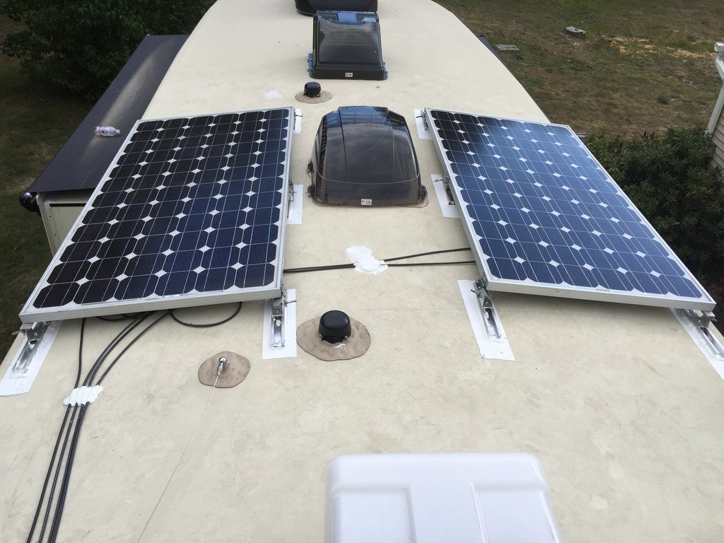 Solar Panel Mounting Bracket Options Jayco Rv Owners Forum