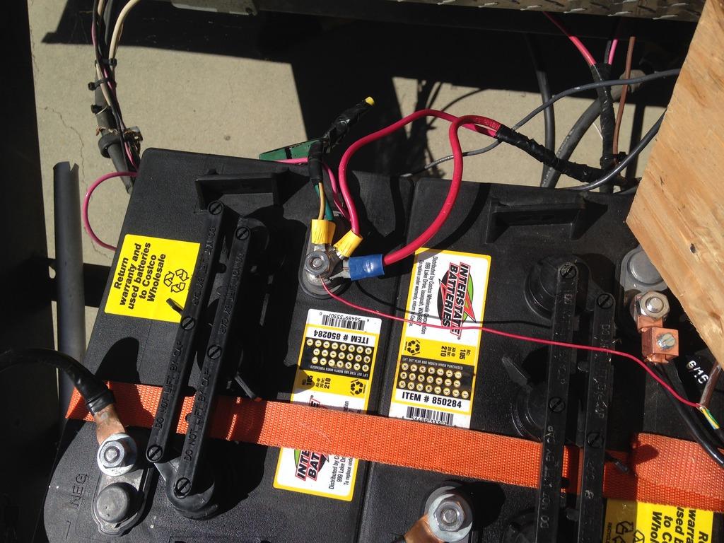 Wiring 2 6 Volt Batteries In Series