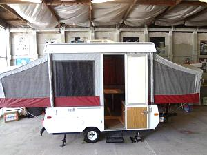 New member and new to us 1996 Jayco Eagle SD pop up camper