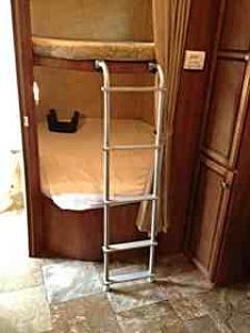 Rv Bunk Bed What Size Ladder