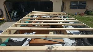 Pop up roof rebuild jayco 1406 - Jayco RV Owners Forum
