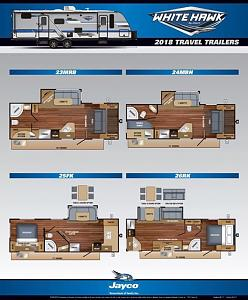 2018 White Hawk Line Up - Jayco RV Owners Forum