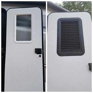 Slim Shade Entry Door Window Jayco Rv Owners Forum