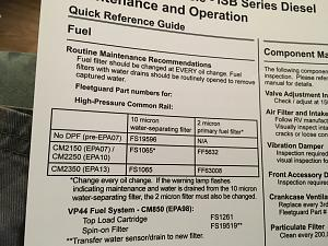 2019 Seneca S2RV first oil change - Jayco RV Owners Forum