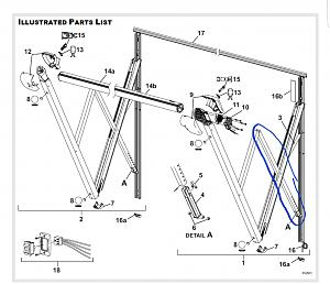 Replacement awning arm for Jayco 22RB - Jayco RV Owners Forum