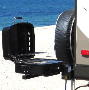 Travel Trailer Gas Grill