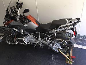 Motorcycle tie down - Jayco RV Owners Forum