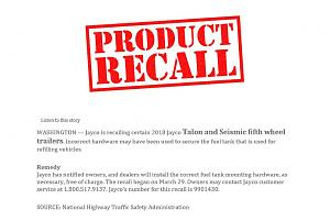 JAYCO - Recall Talon and Seismic fifth wheel recall.jpg
