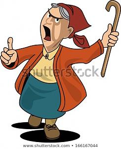 angry-old-woman-brandishing-her-450w-166167044.jpg