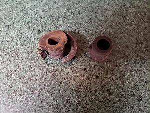 Old sway bar end link bushings.jpg