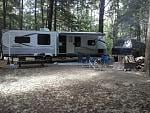 Site 132 at the Sacandaga campground Wells,NY
