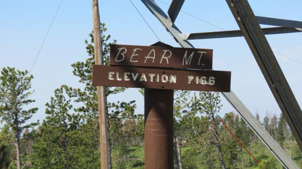 Bear Mt fire lookout