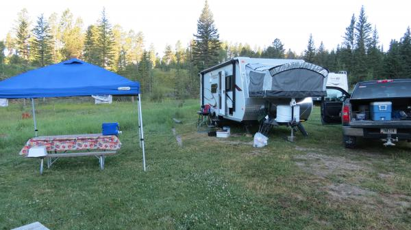 Medicine Mountain Scout Ranch family campground