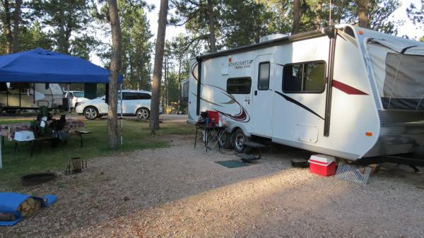 Beaver Lake Campground, Custer, SD