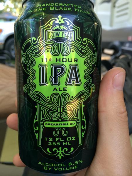 Local IPA. Very nice!