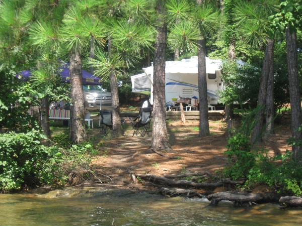 IMG 0245 Pic taken from kayak, which is a must have on such a great lakefront site on Lake Lanier, Ga.