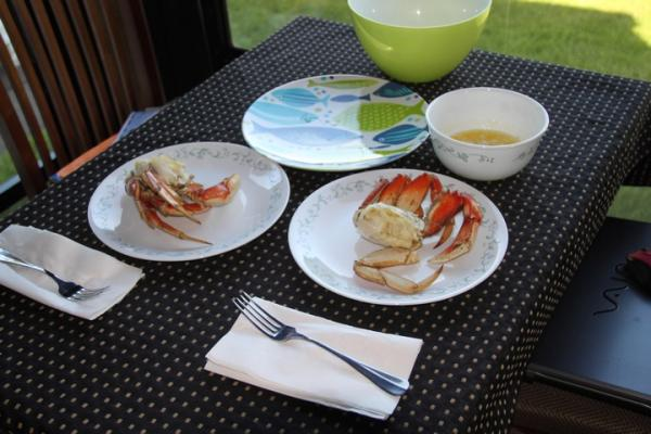 Dungenous Crab Anniversary Dinner