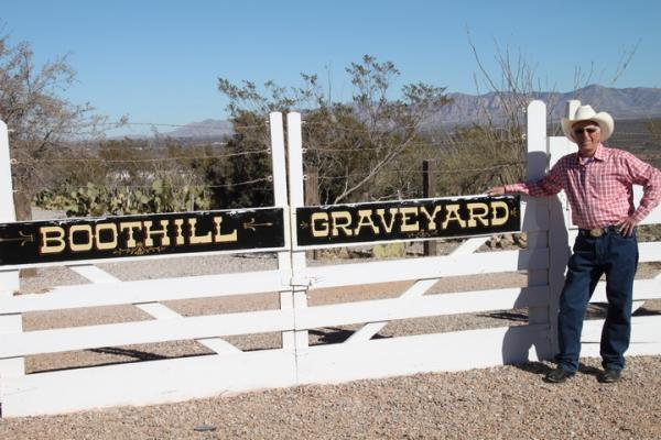 Boot Hill in Tombstone.