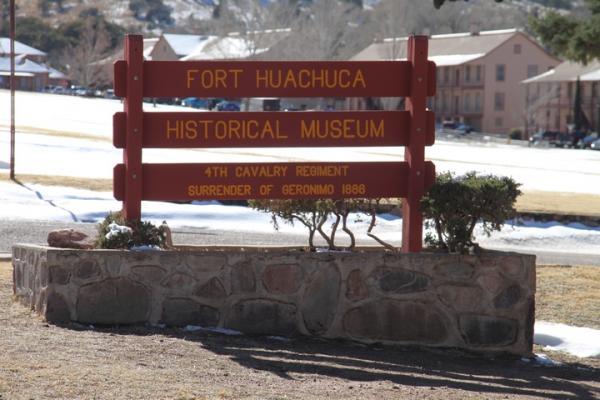 Fort Huachuca.