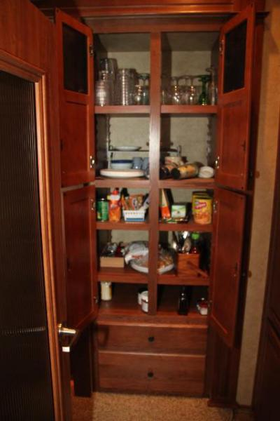 Pantry was a big selling point for us.
