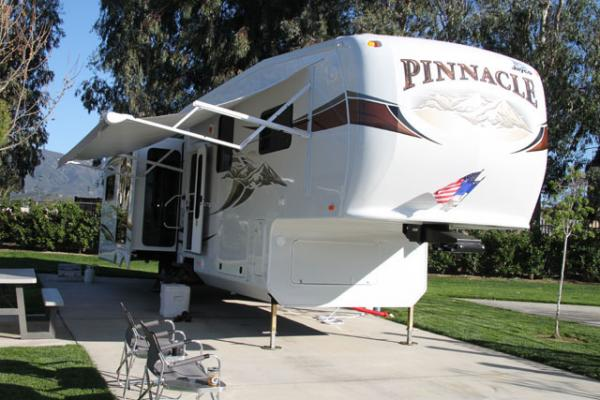 After taking delivery we spent a week at Pechanga RV Resort in Temcula, CA to get familiar with our new rig.