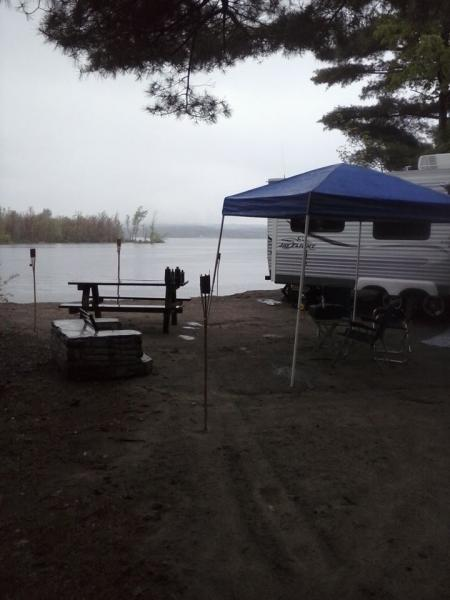 Site 86 at Northampton Beach Campground.