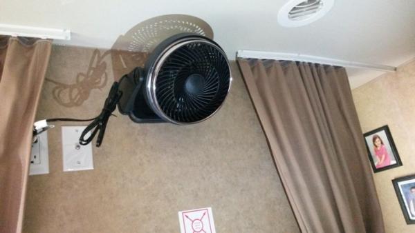 bed room fan sm2