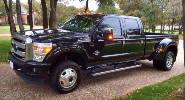 2014 ford f350 platinum 4x4 crew dually diesel 1
