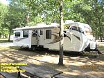 Our Unit at Oak Lake Campground, Roselawn, Ind