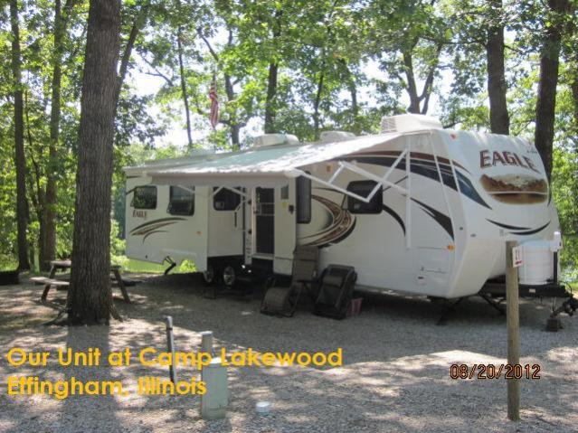 Our Unit at Camp Lakewood, Effingham, IL