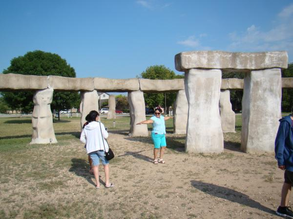Stonehenge in Ingram, just west of Kerrville.