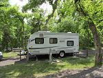 Camping in April