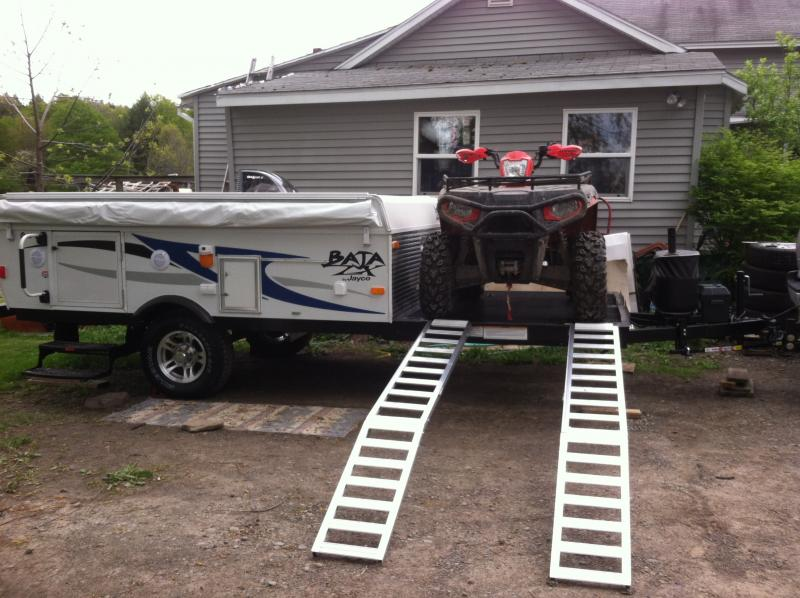 Jayco Baja 10G and Polaris Sportsman 500 003