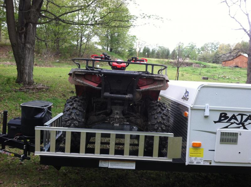 Jayco Baja 10G and Polaris Sportsman 500 017
