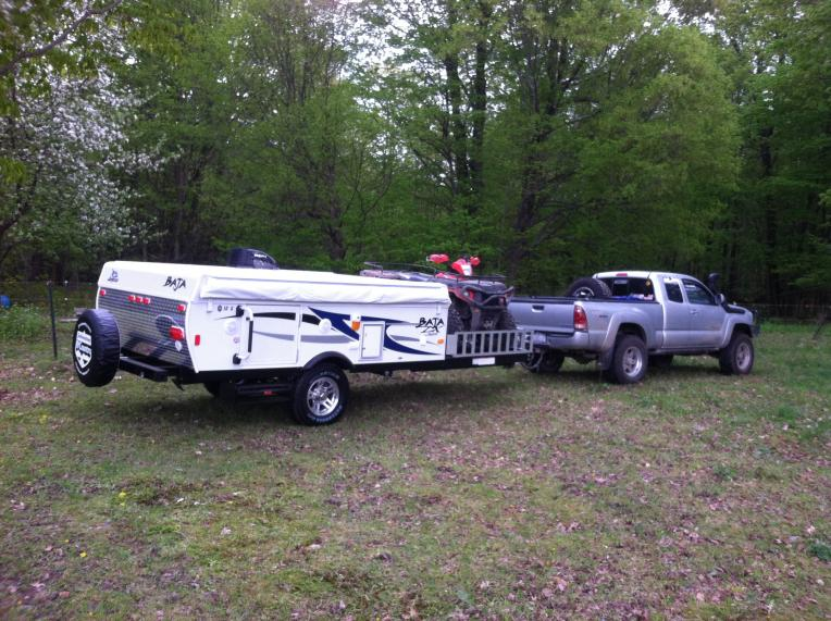 Jayco Baja 10G and Polaris Sportsman 500 007