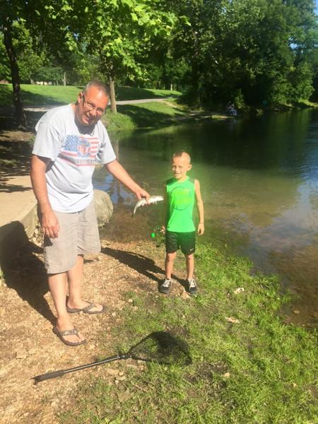 Bennett Springs trout