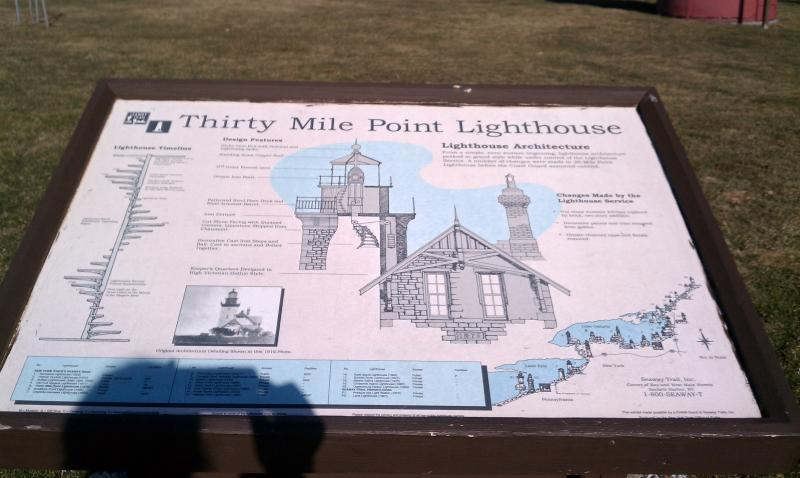 30 Mile Point Lighthouse Sign 4 6 13 (2)