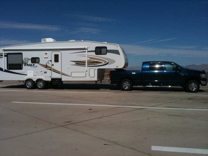 Jayco and truck