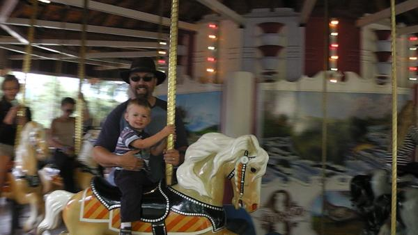 Silverwood. We rode the carousel 5 times