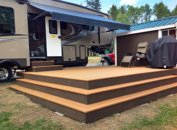 New Deck for our summer home