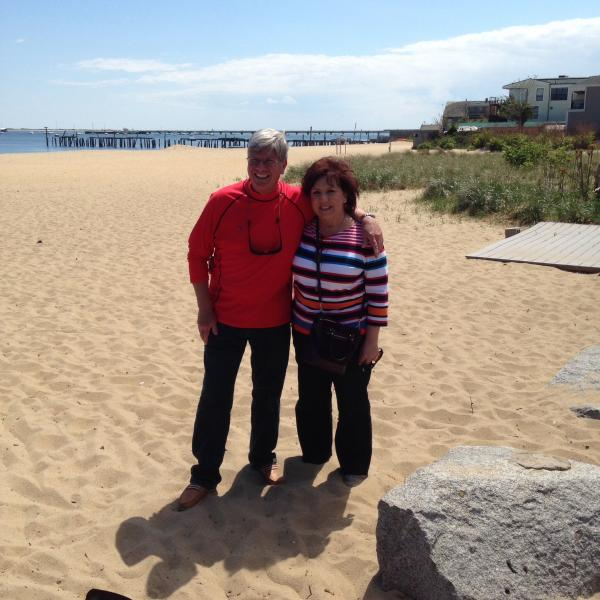 Me and Rosie in Provincetown
