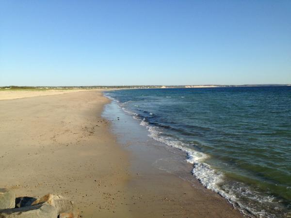 Beach at scusset