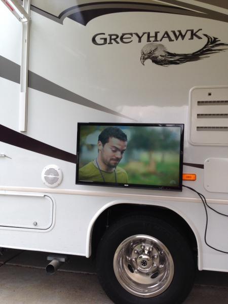 """New outdoor 32"""" tv"""