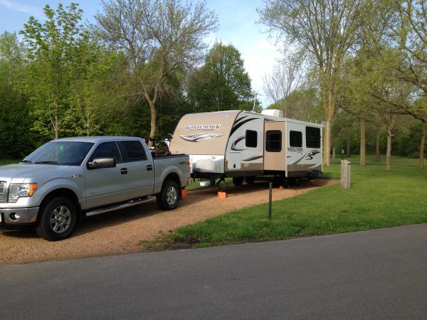 Gotta love camping!!
